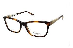 Óculos De Grau Ana Hickmann Duo Fashion Ah6260 G21 Marrom