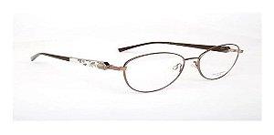 Óculos Armação Ana Hickmann Ah1315 01a Marrom  Feminino
