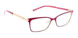 Óculos Armação Ana Hickmann Ah1329 07b Vermelho Feminino
