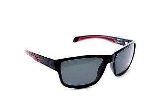 Óculos Sol Speedo CAPRI A01 Preto Fosco Lente Cinza Polariza