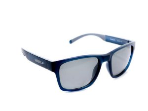Óculos De Sol Speedo Coral D01 Azul Translucido Lente Cinza