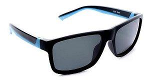 Óculos De Sol Speedo Fut A02 Infantil Polarizado Preto  Azul