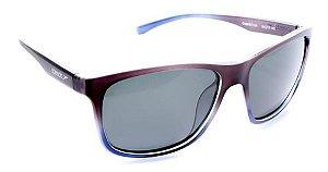 Óculos De Sol Speedo Guara C01 Cinza Azul Lente Polarizad