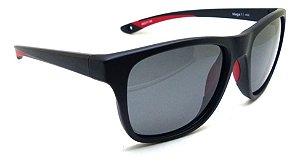 Óculos De Sol Speedo Mega 1 A02 Preto Lente Polarizad