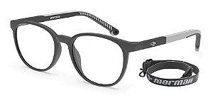 Óculos Armação Mormaii M6090 D82 Cinza Escuro Infantil
