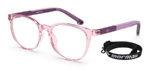 Óculos Armação Mormaii  M6090 B91 Rosa Translucido Infantil