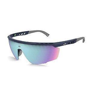Óculos De Sol Mormaii Leap Unissex Esportivo Ciclismo Azul