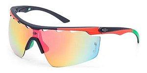 Óculos De Sol Mormaii Athlon 4 Unissex Ciclismo Sport Preto