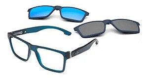 Óculos Armação Mormaii Swap Ng Duo Azul Escuro M6098k2656