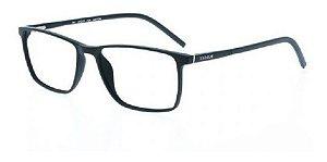 Óculos Armação Bulget Bg7060 A01 Preto Fosco Masculino