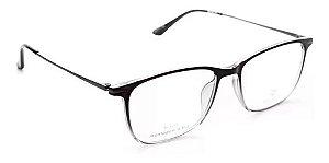 Óculos Armação Bulget Bg7056t C01 Preto Transl Masculino