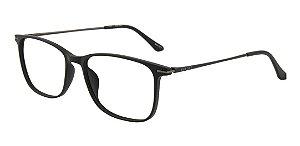Óculos Armação Bulget Bg7056t A01 Preto Fosco Masculino