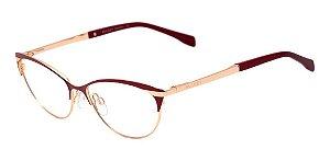 Óculos De Grau Bulget Bg1570 07a Vermelho Dourado