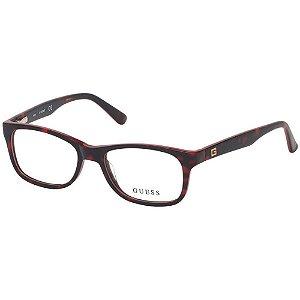 Óculos Armação Guess GU9184 056 Vermelho Tartaruga Infantil