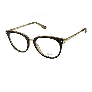 Óculos Armação Guess GU2753 052 Marrom Acetato Feminino