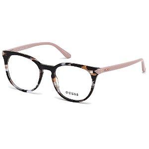 Óculos Armação Guess GU2672 055 Preto Mesclado Feminino