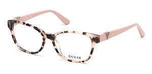 Óculos Armação Guess Gu2709 072 Rose Mesclado  Feminino