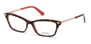 Óculos Armação Guess Gu2797 Feminino Marrom Mesclado 052