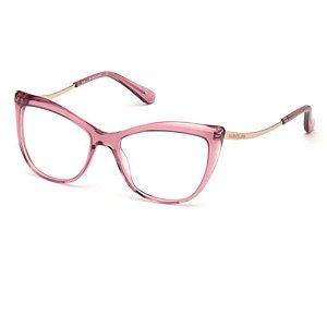 Óculos Armação Guess Marciano GM0347 072 Rose Translucido