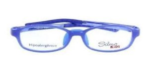 Óculos Armação Silmo Kids Sk18105 Blue Meninos