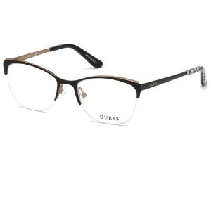 Óculos Armação Guess GU2642 002 Metal Preto Feminino