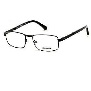 Óculos Armação Harley-Davidson HD0751 002 Preto Masculino