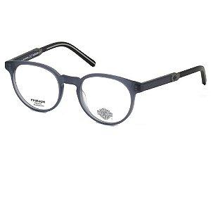 Óculos Armação Harley Davidson HD9005 091 Azul Fosco