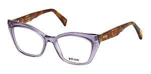 Óculos Armação Just Cavalli Roxo Mesclado Jc0809/v 078