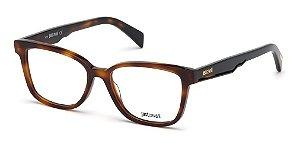 Óculos De Grau Just Cavalli Marrom Mesclado Jc0875/v 054