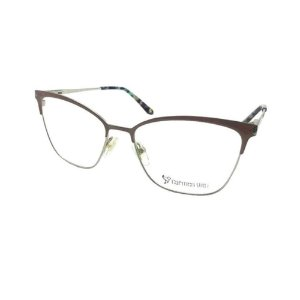 Óculos Armação Carmen Vitti CV0105 C3 Metal Rosa Feminino