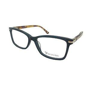 Óculos Armação Carmen Vitti CV0127 C1 Acetato Preto Feminino