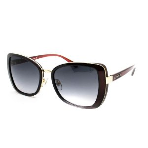 Óculos Solar Carmen Vitti CV7031 C4 Vinho Acetato Feminino