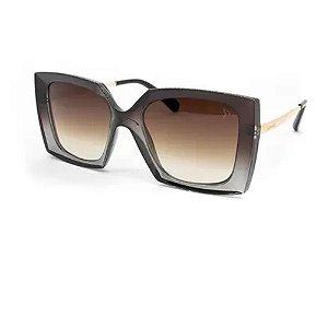 Óculos Armação Carmen Vitti CV7030 C4 Acetato Cinza Feminino
