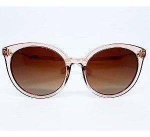 Óculos De Sol Carmen Vitti Cv7008translucido Lente  Degrade