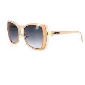 Óculos Solar Carmen Vitti CV7031 C3 Rose Acetato Feminino