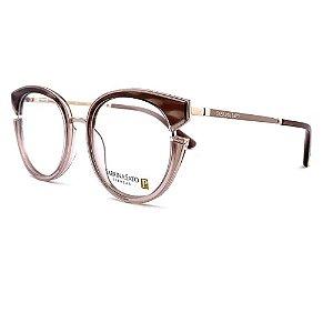Óculos Armação Sabrina Sato SS530 C3 Marrom Mesclado Feminin