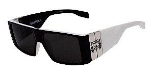 Óculos De Sol Evoke Masculino Bomber Preto A10 Matte Premium