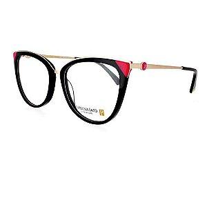 Óculos Armação Sabrina Sato SS484 C1 Preto Acetato Feminino