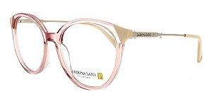 Óculos Armação Sabrina Sato Ss493 C4 Translucido Rose