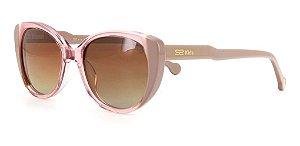 Óculos De Sol Sabrina Sato Sskd7003 C3 Infantil Len  Degrade