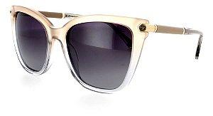 Óculos De Sol Sabrina Sato Polarizado Nude Degrade Ss499  C3