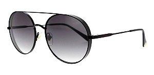 Óculos De Sol Sabrina Sato Ss479 C3 Metal Preto  Feminino