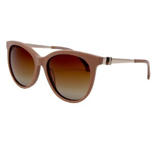 Óculos de Sol Sabrina Sato SS453 C3 Bege Acetato Feminino