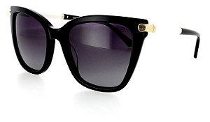 Óculos De Sol Sabrina Sato Polarizad Preto Feminin Ss499 C1