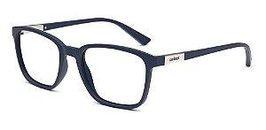 Óculos De Grau Colcci Liam C6144 K33  53 Azul Escuro Fosco