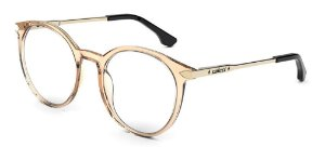 Óculos Armação Colcci C6154 B38 53 Feminino Translucido