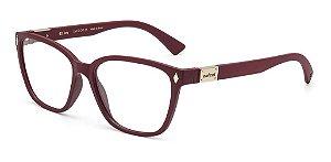 Óculos De Grau Colcci Amy C6077 C41 54 Bordo Fosco