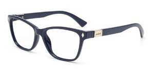 Óculos Armação Colcci Cleo C6096k6954 Feminino Azul Marinho