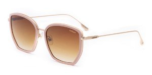 Óculos De Sol Colcci C0160 Feminino Rosa Fosco Lente Marrom