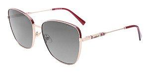 Óculos De Sol Colcci C0161 C73 33 Vermelho / Cinza Degradê
